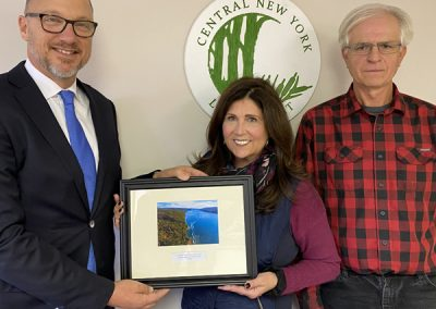 Michael and Ellen Albanese Named Central New York Land Trust Conservationist of the Year