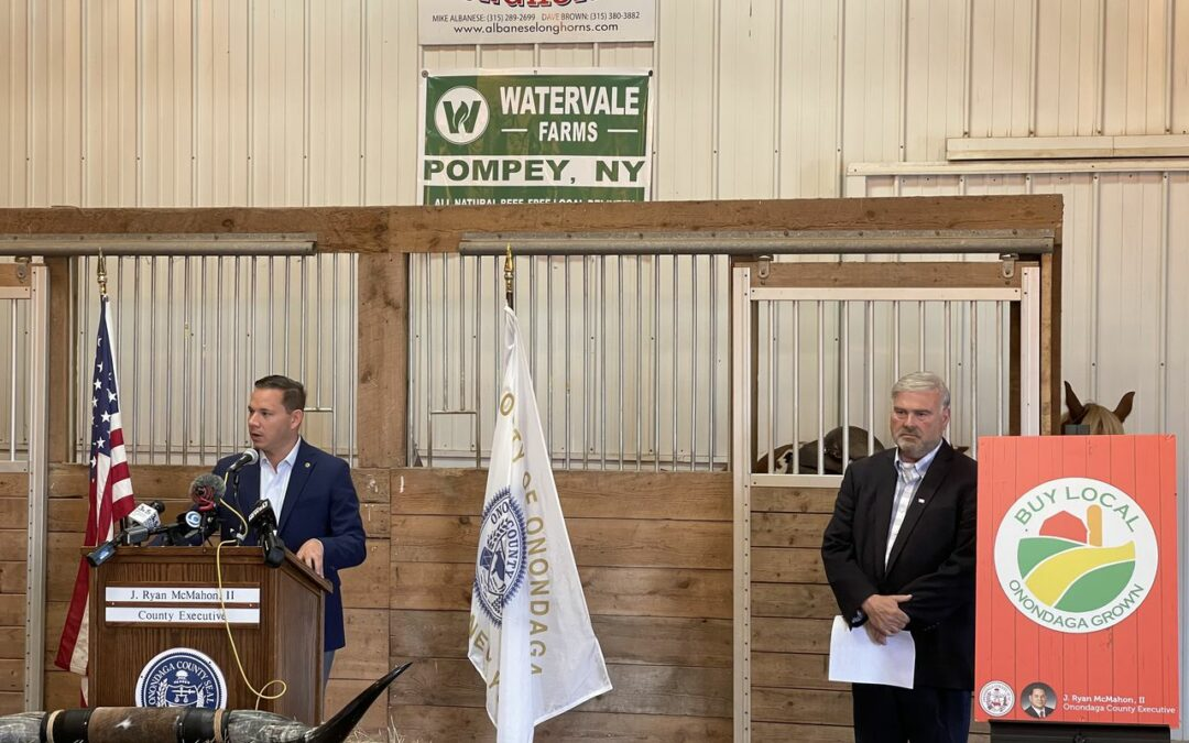 Onondaga County Agriculture Council meet at Albanese Longhorns to Promote Local Farms and Businesses