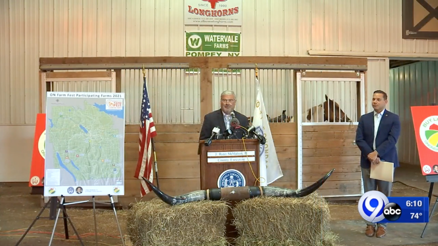 Albanese Longhorns Host Kickoff Event for Onondaga Grown Campaign